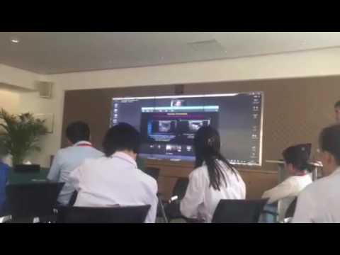 Reacts - Beijing-Montreal live ultrasound guidance