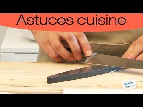 comment aiguiser un couteau ? - youtube