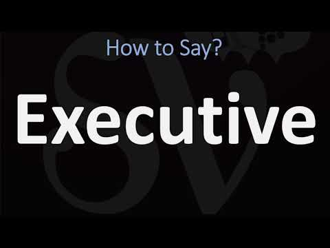How to Pronounce Executive? (2 WAYS!) British Vs US/American English Pronunciation