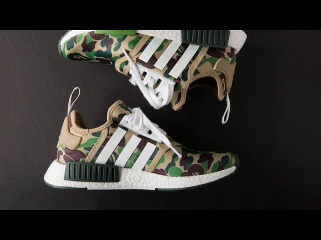 9b599285835c This Could Be Your Last Chance to Get the Bape x Adidas NMD – Footwear News