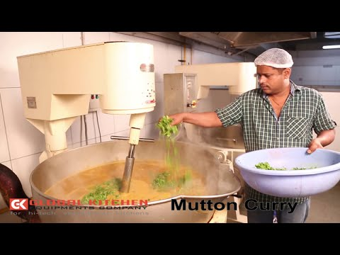 Mutton Curry Cooking GK COOKING MIXER MACHINE COOK WOK GLOBAL KITCHEN EQUIPMENTS COMPANY,COIMBATORE
