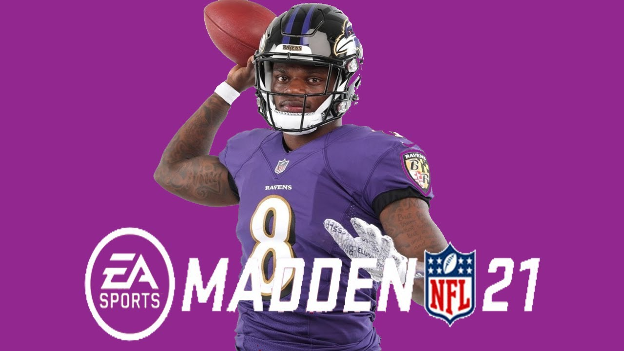 EA Sports Reveals Madden 21 Cover Featuring Lamar Jackson