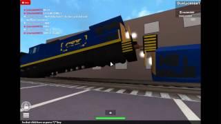 Filmer765's Games ROBLOX- Southbound CSX Crash Fail