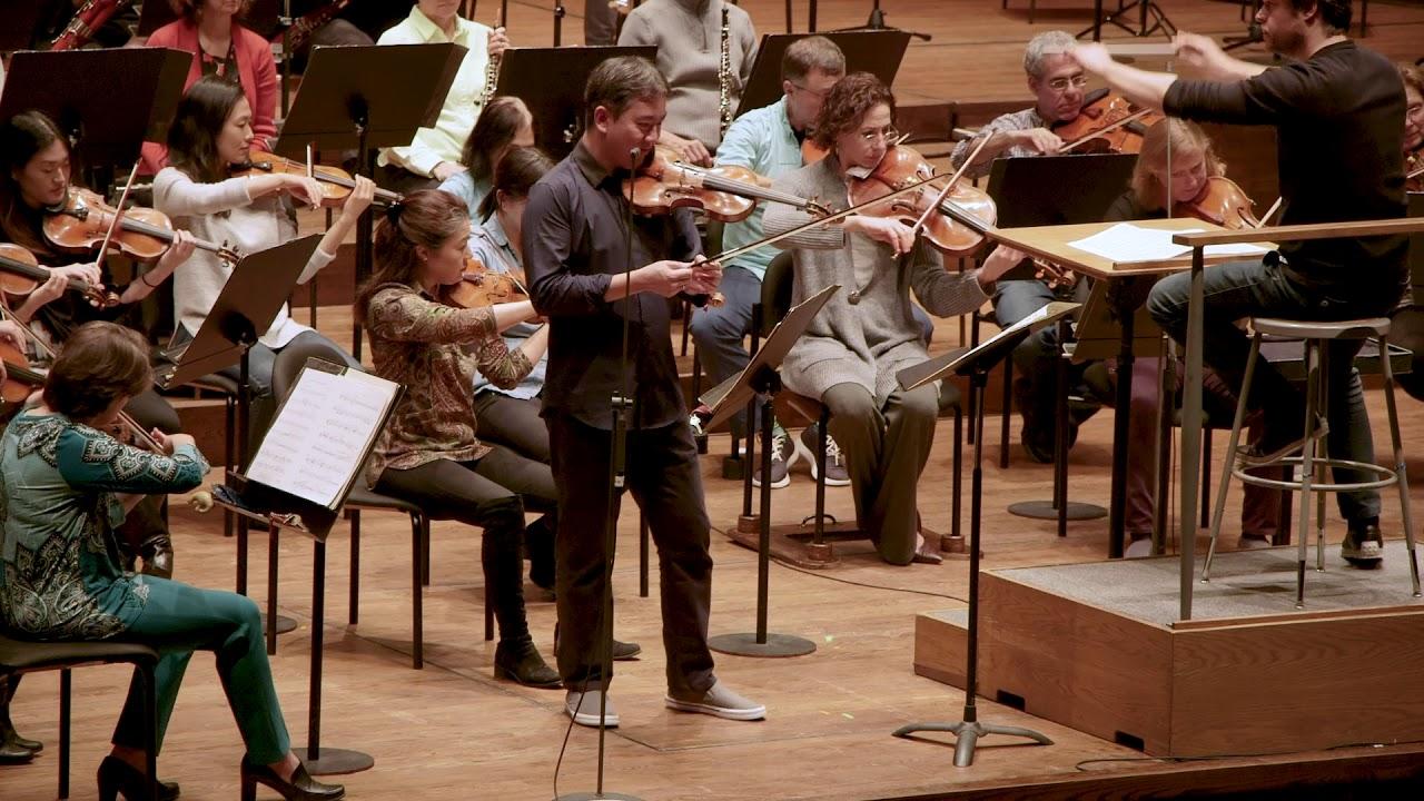 In Rehearsal: Frank Huang in Barber's Violin Concerto