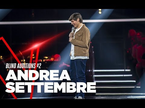 "Andrea Settembre ""Location"" - Blind Auditions #2 - TVOI 2019"