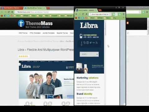 Best Responsive WordPress Themes 2012 - YouTube