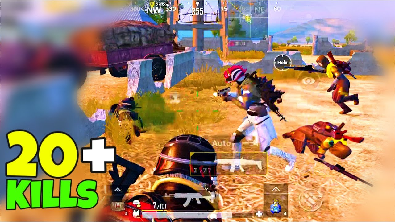 I RUSHED FULL SQUAD with SCAR L and THIS HAPPENED ! SOLO vs SQUAD | PUBG Mobile