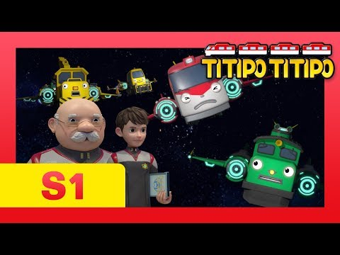TITIPO S1 EP25 l Mission! Save the choo-choo town! l TITIPO TITIPO