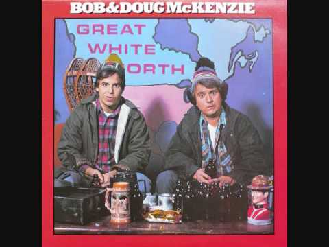 Bob & Doug McKenzie with Geddy Lee - Take Off