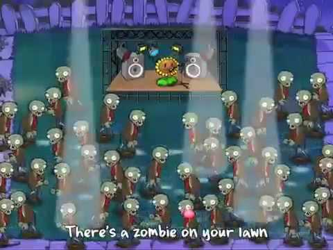【Plants vs Zombies】Zombies On Your Lawn - Karaoke