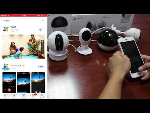 Giới Thiệu Và Hướng Dẫn Sử Dụng Dòng Camera EZVIZ Mới