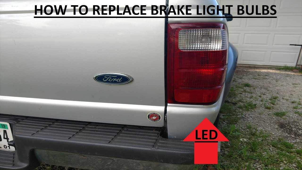Ford Ranger Brake Light Bulb Tail Replacement How To