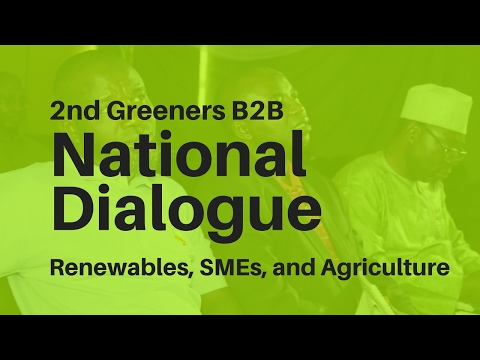 B2B National Dialogue - Jobs and SME opportunities in Renewable energy and Agriciulture