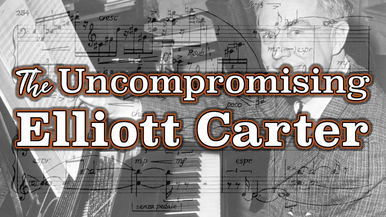 Elliott Carter: Piano Sonata (w/ score) (1945/46, rev. '82)