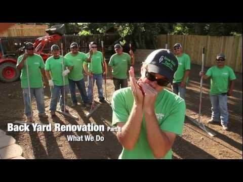 Backyard Renovation, Part 1 - Green Valley Turf Co.