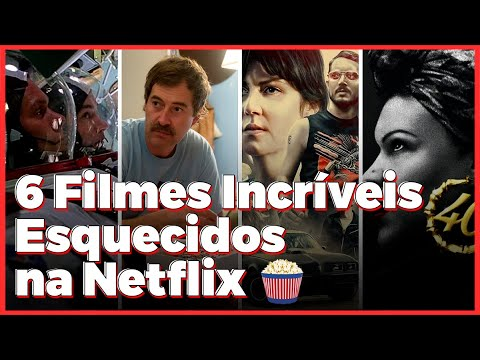 6 Filmes INCRÍVEIS Esquecidos na Netflix | Check List