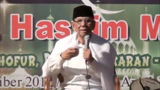 Ceramah KH Hasyim Muzadi | fenomena siklus Zaman | Munimalist dsg