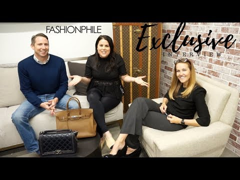 ☆HEAVEN OF LUXURY☆ INTERVIEW WITH CEO's OF FASHIONPHILE | Jerusha couture