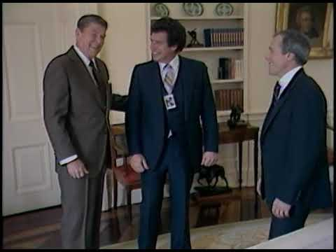 President Reagan's Photo Opportunities on February 19-22, 1985