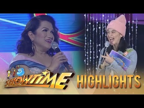 It's Showtime Miss Q & A: Anne Curtis recognizes the designer of her gown
