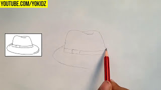 How to draw HAT for kids