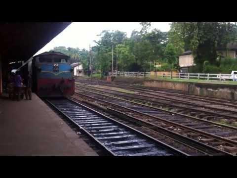 "SLR Class M4 745 (Ruwanweli) Hauling ""Udaya Devi"" Colombo-Batticaloa Express Train"