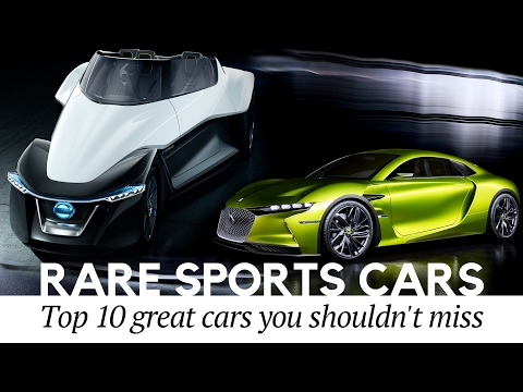 10 Rare Sports Cars You Never Knew Existed (Electric Car Edition)