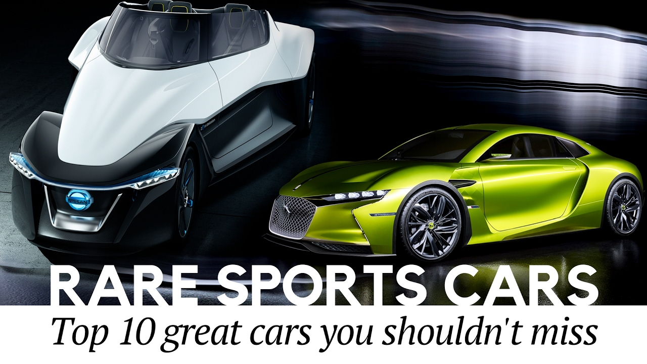 10 Rare Sports Cars You Never Knew Existed (Electric Car Edition ...