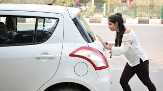 PUSHING CAR PRANK - Part 2 | PhrankTV | Pranks in India