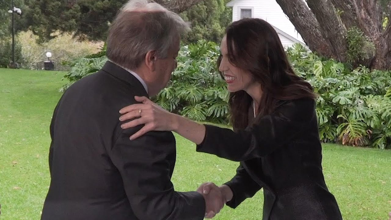Secretary-General arrives in New Zealand