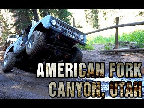 Off the Road: American Fork Canyon