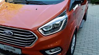 Új Ford Tourneo Custom: minőségi ugrás a személyszállítók között