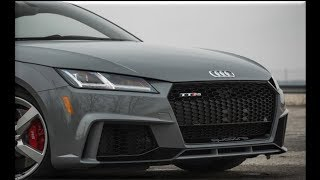 2018 Audi TT RS Interior and Exterior | TT RS one wicked sports coupe