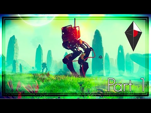 No Man's Sky - Exploration, Space Fights & Finding Rare Planets! (Let's Play Part 1)