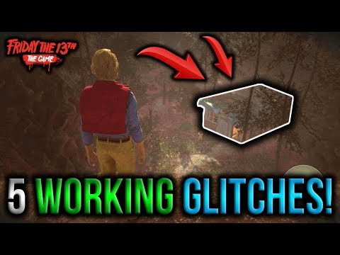 5 Working Glitches! (After Patch) - Friday The 13th The Game