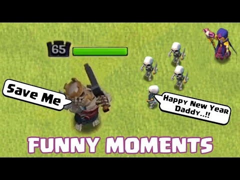 Best of 2019🔥 | ULTIMATE Clash of Clans Funny Moments Montage | New Year Special |