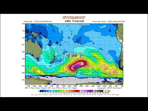 Stormsurf Video Surf and MJO/ENSO forecast for Sun (6/3/18)
