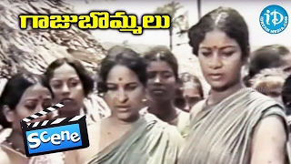 Gaaju Bommalu Movie Scenes - Prabhakar Reddy Warns Sarath Babu || Gummadi || Poornima || Sangeetha