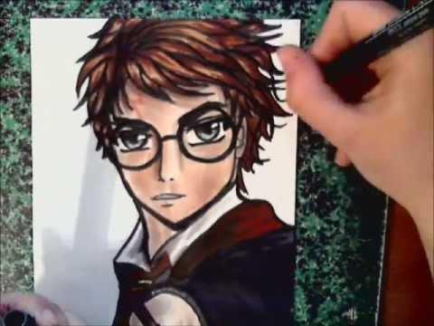 Dessin Harry Potter Manga Youtube