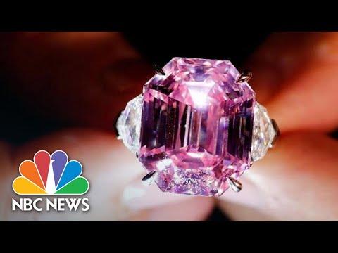 'Pink Legacy' Diamond Sells For Record $50 Million To U.S. Jeweler | NBC News