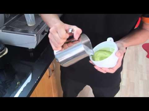 Hướng dẫn làm Matcha Latte Art [Cafe.org.vn]