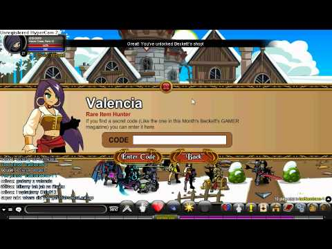 There are three codes for valencia techhelpdesk.tk in oicu to open a shop and you will get a cool sword for only 10 gold!!!!! techhelpdesk.tk in thirteen1 to get a thirteen1 badger helmet Dragonkhan to get a event rare dragon khan blade!!!! Level 8 dragonslayer aqw player Thanks.