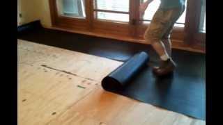 Roofing Felt Underlayment For Hardwood, Roofing Felt Under Laminate Flooring