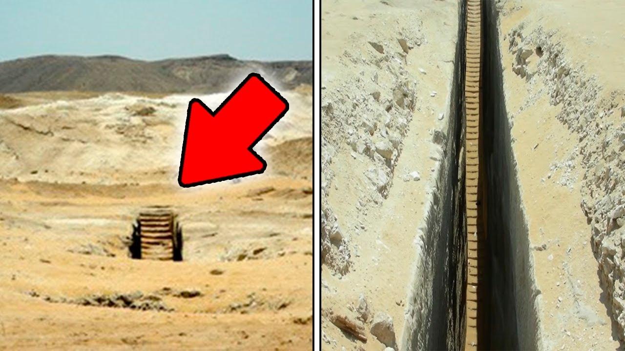 ¡Mysteriöse TREPPE Mitten In Der Wüste Von ÄGYPTEN Entdeckt!