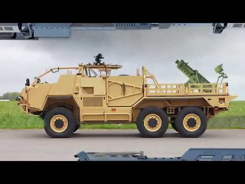Spear 120mm Mobile Mortar System   Elbit