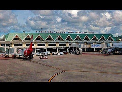 Phuket International Airport. Thailand
