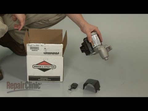Electric Starter Motor - Briggs and Stratton Small Engine