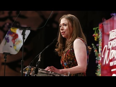 Thumbnail: Chelsea Clinton's Responds to Vanessa Bayer's Hillary Joke at Luncheon