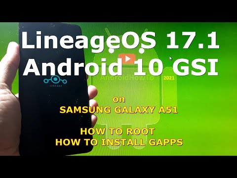 LineageOS 17.1 Android 10 for Samsung Galaxy A51 Super Image Partition