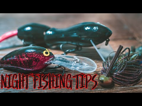 Summer Night Fishing Tricks For Bass